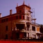 BR&C arquitectos Fachada en obra edificio Neguri