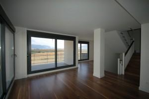 BR&C arquitectos Interior viviendas bifamilliares Navarra