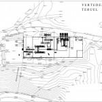 BR&C arquitectos Plano emplazamiento nave industrial Teruel