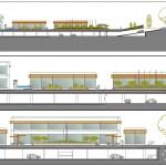 BR&C arquitectos Plano secciones aparcamiento Panamá