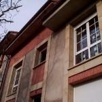 BR&C arquitectos Fachada edificio viviendas unifamiliares adosadas Vizcaya