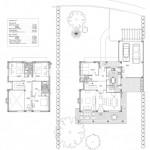 BR&C arquitectos Plano plantas viviendas unifamiliares Álava