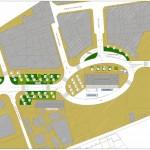 BR&C arquitectos Plano emplazamiento aparcamiento Navarra