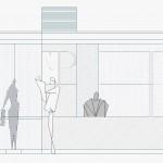 BR&C arquitectos Plano alzado aparcamiento Navarra