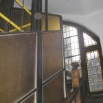 BR&C arquitectos Escalera sin reformar edificio Bilbao