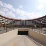 BR&C arquitectos Entrada garaje edificio Logroño