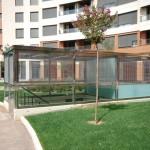 BR&C arquitectos Escaleras entrada garaje edificio Logroño