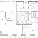 BR&C arquitectos Plano planta edificio Bilbao
