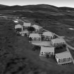 BR&C arquitectos Infografía viviendas adosadas Galicia
